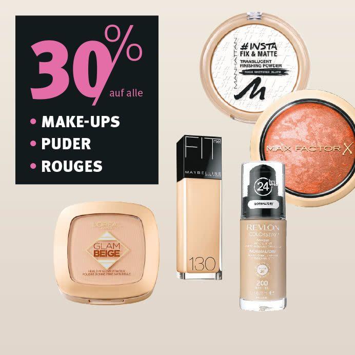 Schnäppchenalarm: Make-Up